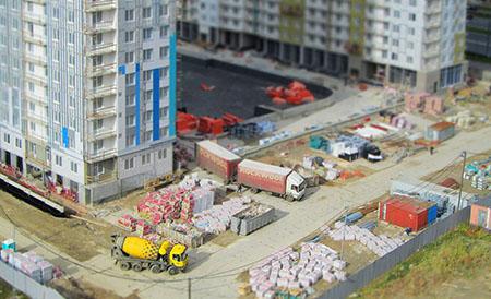 Ход строительства жилого комплекса, II очередь, 01.10.2019