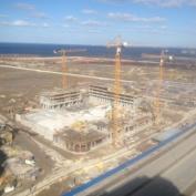 Ход строительства жилого комплекса, 04.04.2014
