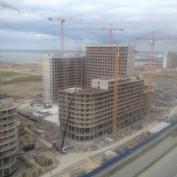 Ход строительства жилого комплекса, 05.09.2014