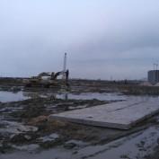 Ход строительства жилого комплекса, 11.04.2013