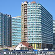 Ход строительства жилого комплекса, 02.09.2015
