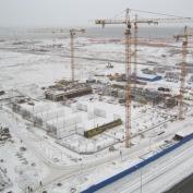 Ход строительства жилого комплекса, 13.01.2014