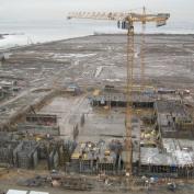 Ход строительства жилого комплекса, 15.02.2014
