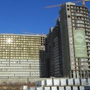Ход строительства жилого комплекса, 05.03.2015