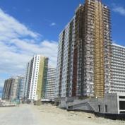 Ход строительства жилого комплекса, 10.06.2015