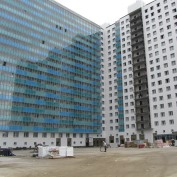 Ход строительства жилого комплекса, 30.09.2015