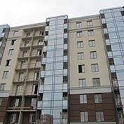 Ход строительства жилого комплекса, 30.11.2017