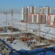Ход строительства жилого комплекса, II очередь, 02.03.18