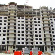 Ход строительства жилого комплекса, II очередь, 28.09.2018