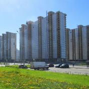 Ход строительства жилого комплекса, II очередь, 24.05.2019
