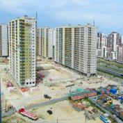 Ход строительства жилого комплекса, II очередь, 24.06.2019
