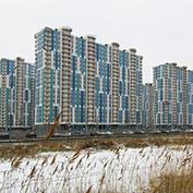 Ход строительства жилого комплекса, II очередь, 29.01.2020