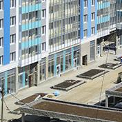Ход строительства жилого комплекса, II очередь, 27.05.2020
