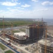 Ход строительства жилого комплекса, 19.05.2014