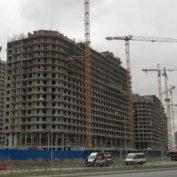 Ход строительства жилого комплекса, 17.11.2014