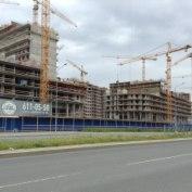 Ход строительства жилого комплекса, 24.06.2014