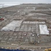 Ход строительства жилого комплекса, 04.12.2013