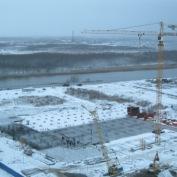 Ход строительства жилого комплекса, 27.11.2013