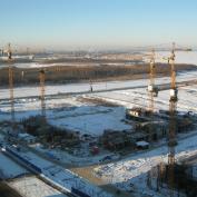 Ход строительства жилого комплекса, 28.01.2014