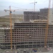 Ход строительства жилого комплекса, 01.10.2014