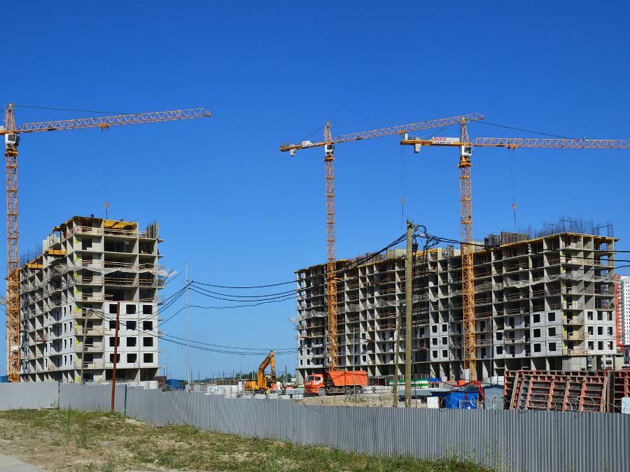 Ход строительства жилого комплекса, II очередь, 27.08.2018