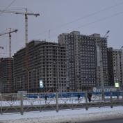 Ход строительства жилого комплекса, 13.01.2015