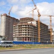 Ход строительства жилого комплекса, 13.08.2014