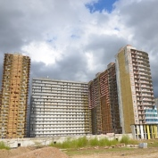 Ход строительства жилого комплекса, 14.05.2015