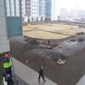 Ход строительства жилого комплекса, 27.11.2015