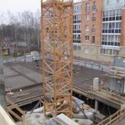Ход строительства жилого комплекса, 22.11.2016