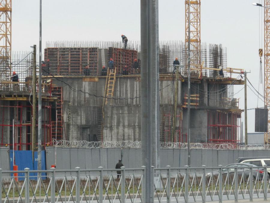 Ход строительства жилого комплекса, II очередь, 19.04.18