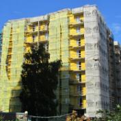 Ход строительства жилого комплекса, 01.09.2017