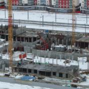Ход строительства жилого комплекса, II очередь, 26.03.18