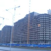 Ход строительства жилого комплекса, 17.12.2014