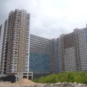 Ход строительства жилого комплекса, 10.07.2015