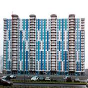 Ход строительства жилого комплекса, II очередь, 25-26.12.2019