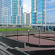Ход строительства жилого комплекса, II очередь, 03.07.2020