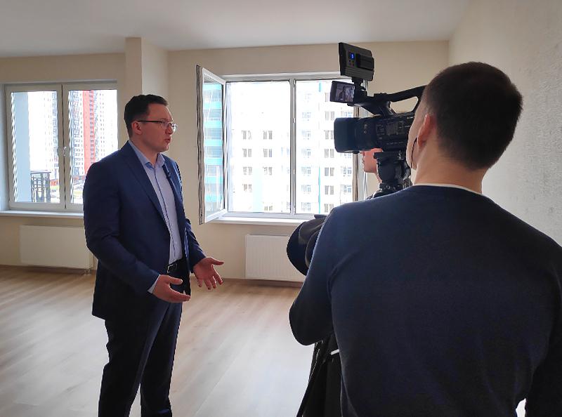 Дмитрий Сухотин на телеканале РБК-ТВ