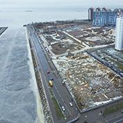 Ход строительства жилого комплекса, III очередь, 27.01.2021