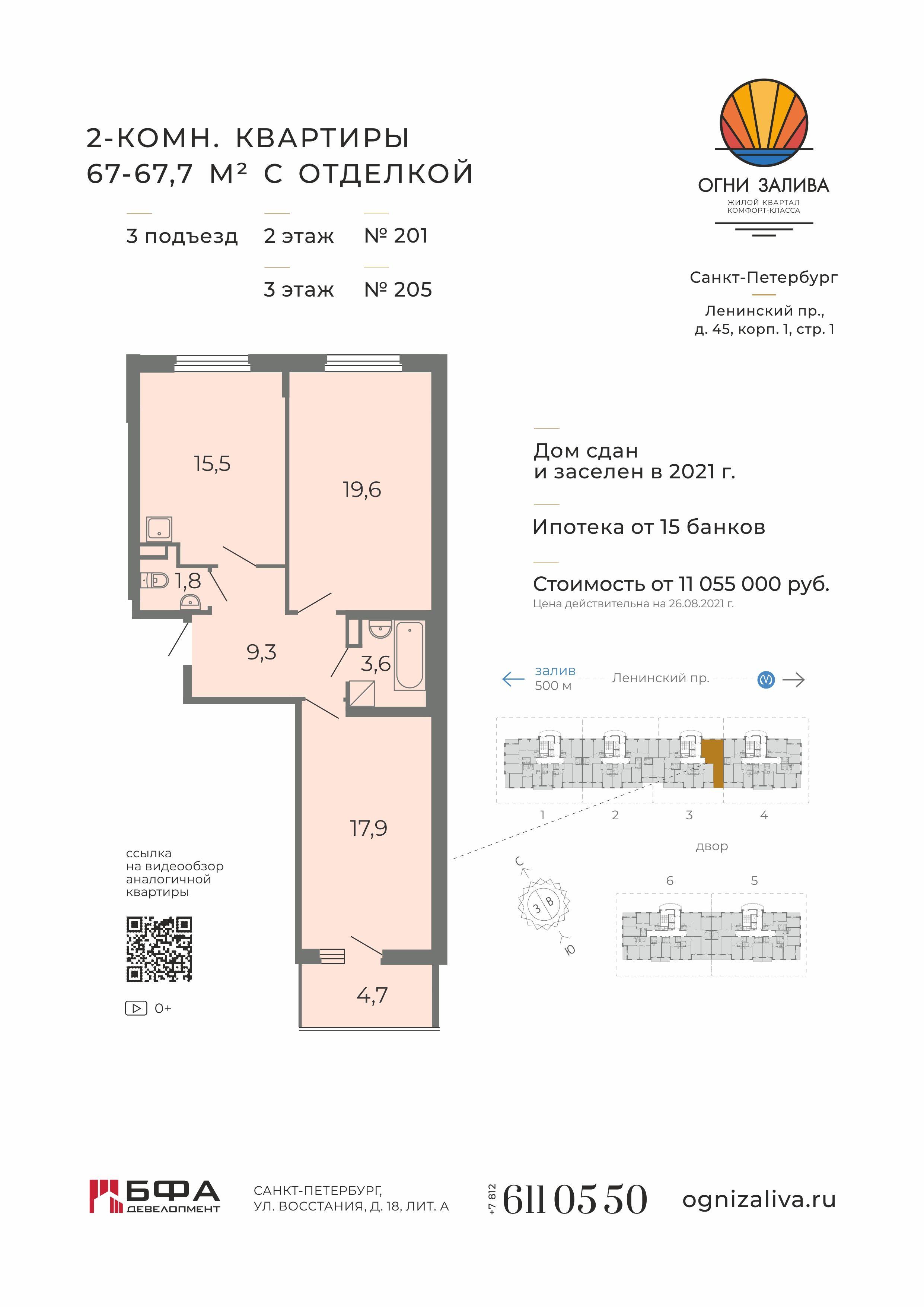 БФА. Готовые квартиры