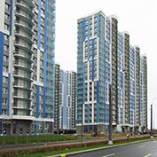 Ход строительства жилого комплекса, II очередь, 03.11.2020