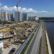 Ход строительства жилого комплекса, III очередь, 01.07.2021