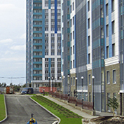 Ход строительства жилого комплекса, II очередь, 02.09.2020
