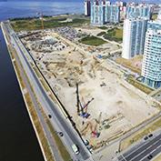 Ход строительства жилого комплекса, III очередь, 30.07.2021