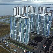 Ход строительства жилого комплекса, II очередь, 30.11.2020