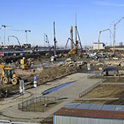 Ход строительства жилого комплекса, III очередь, 24.03.2021