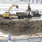 Ход строительства жилого комплекса, III очередь, 26.02.2021