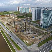 Ход строительства жилого комплекса, III очередь, 25.05.2021