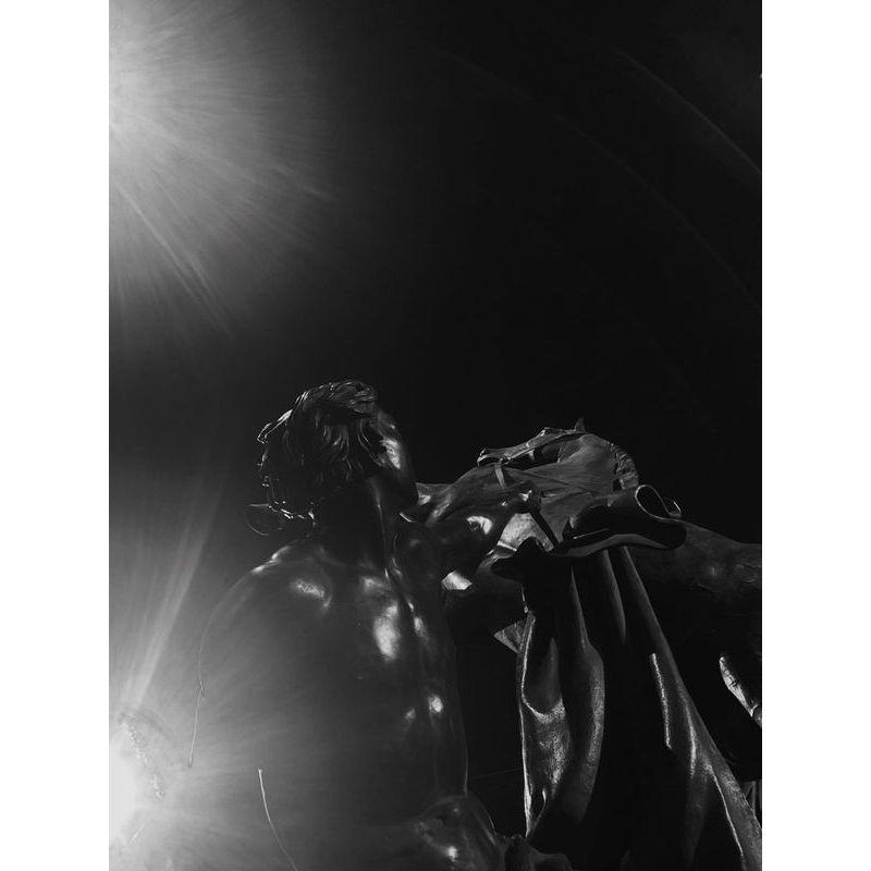 БФА. Фотоконкурс Искусство строительства. Скульптура и две луны. Ольга Курченко